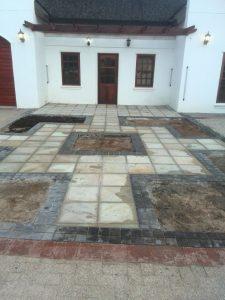 Entrance renovation